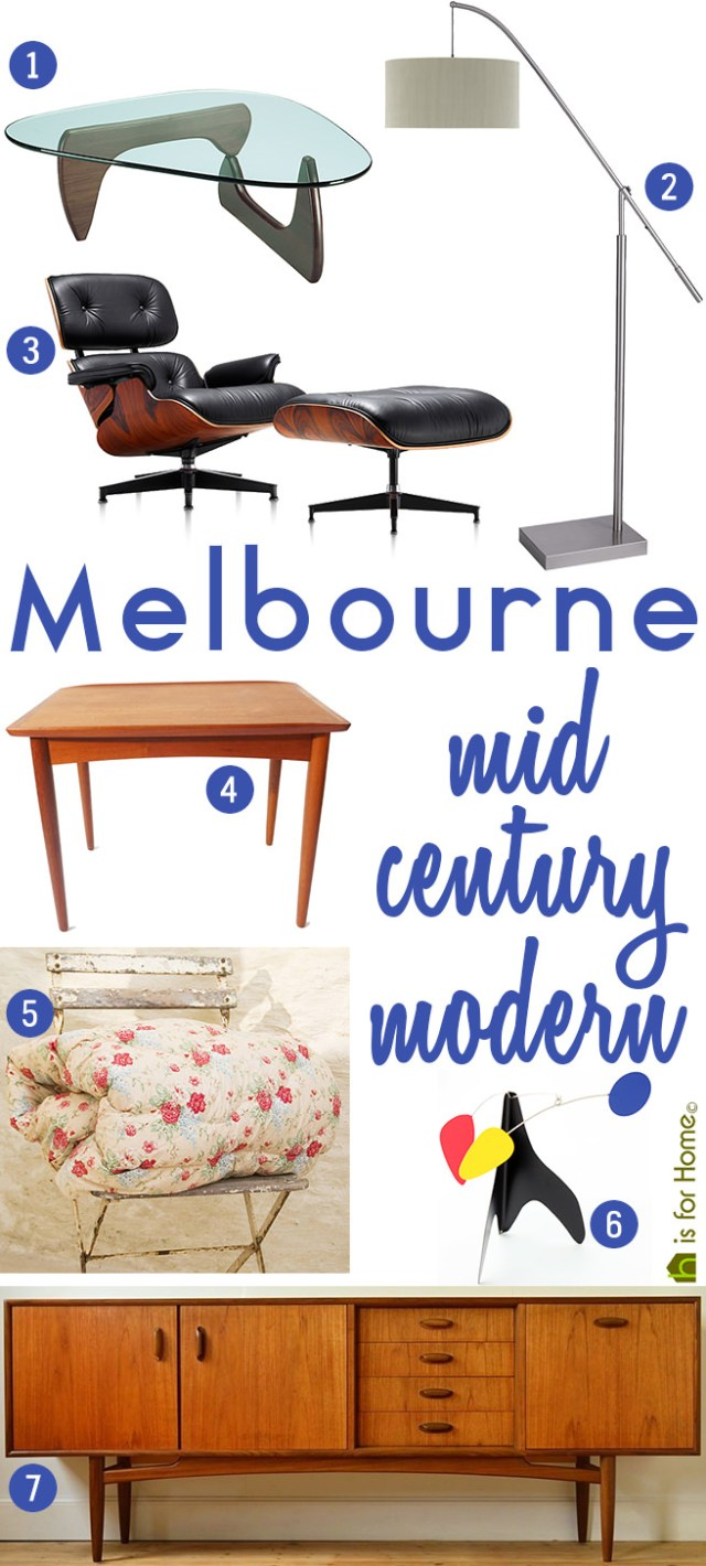 Get their look: Melbourne mid century modern | H is for Home