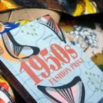 Bookmarks – 1950s Fashion Print