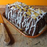 Iced Ginger Loaf Cake Recipe