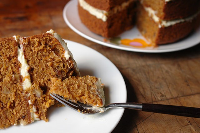 Slice of home-made sweet potato cake | H is for Home