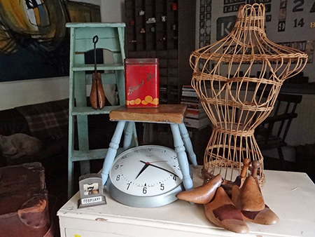collection of various vintage homewares