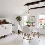 Get their look: Swedish kitchen-diner