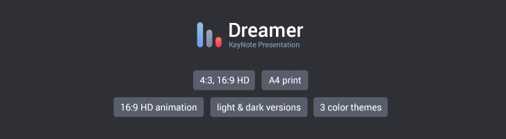Dreamer\u201d Keynote template for MAC - Download Now!