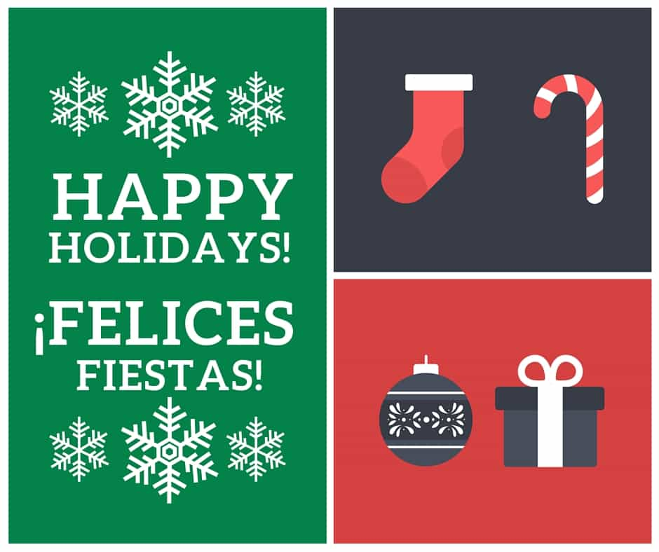 17 Free Printable Holiday Cards in English and Spanish - Hispana Global