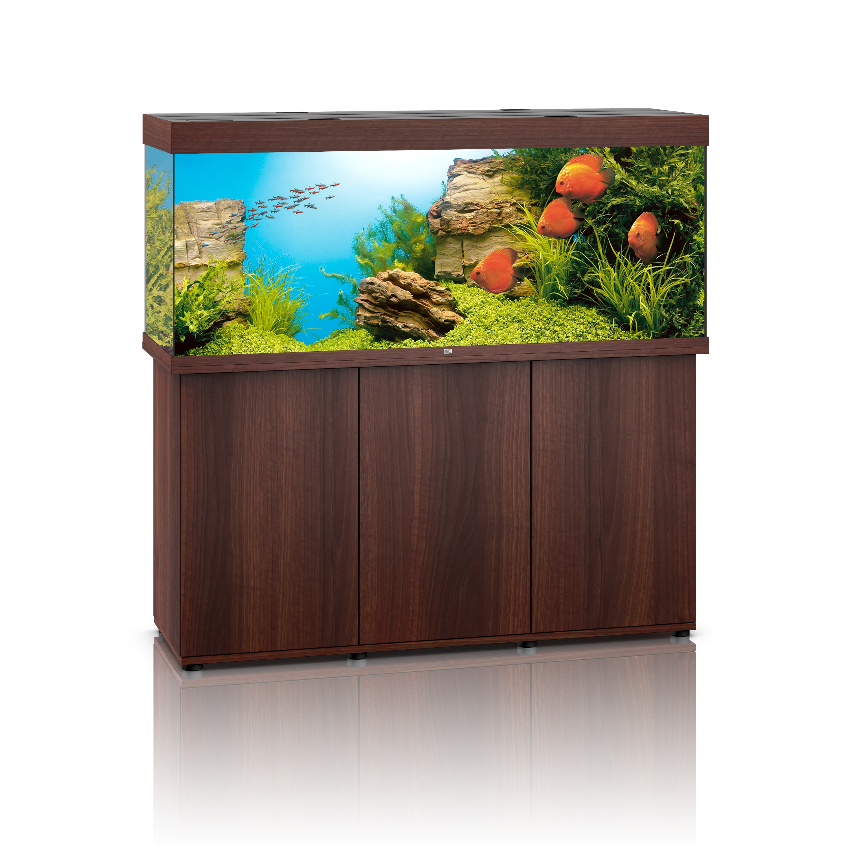 Aquarium Et Meuble Aquariums Meubles Aquariums Juwel Meuble Rio 400 450 Brun