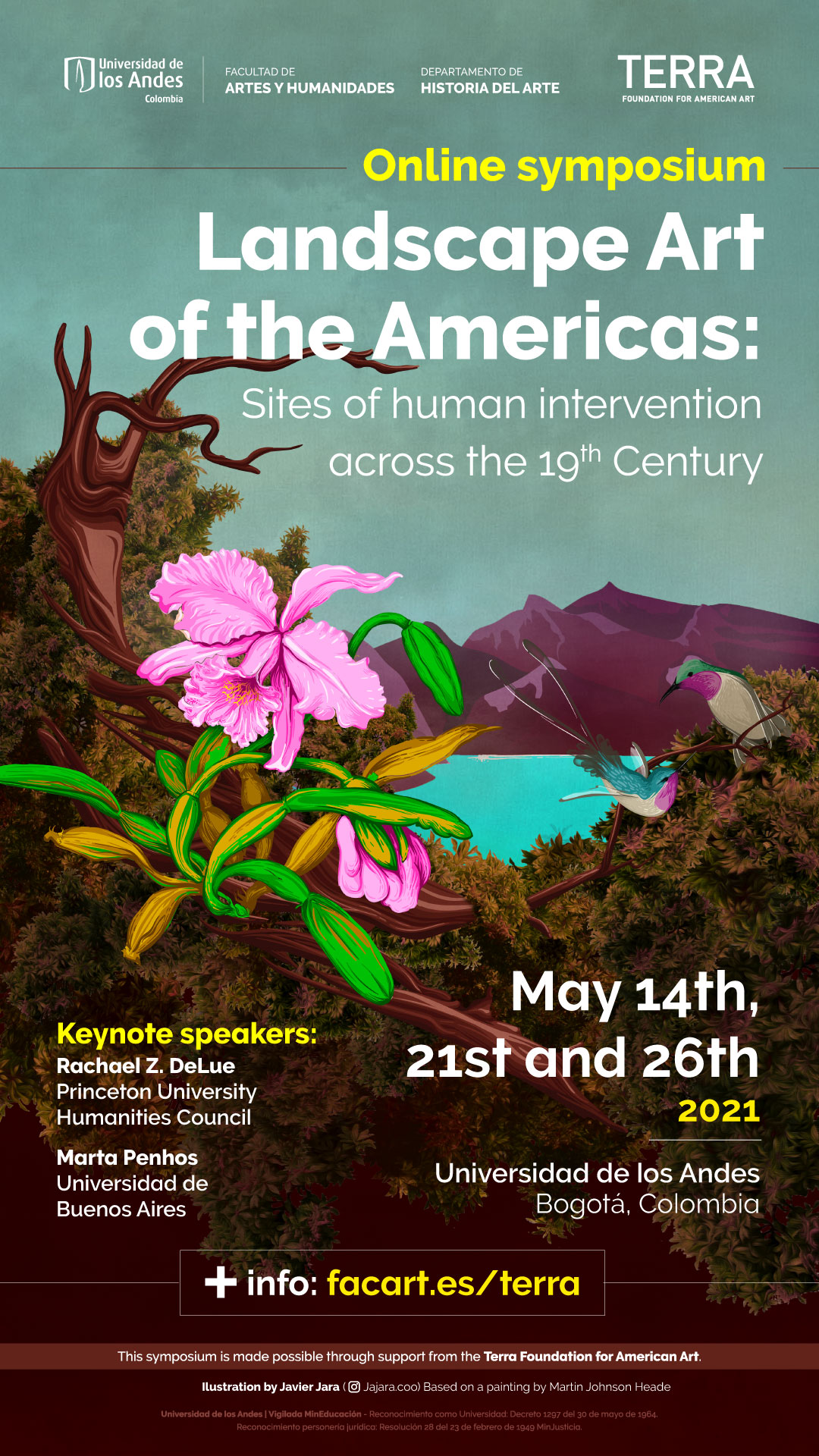 Https Historiadelarte Uniandes Edu Co En Landscape Art Of The Americas
