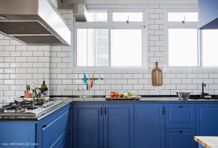 Na Cozinha  Decoração vintage e guacamole # Azulejo Cozinha Horizontal