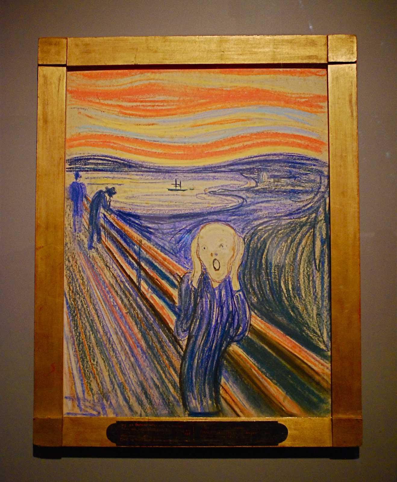 Cuadros Moma The Scream De Munch Se Expone En El Moma Historias De
