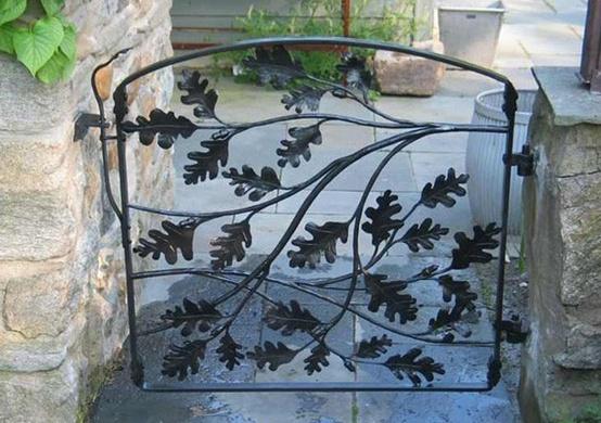 Modelos de valla introduccion a las verjas de hierro - Puertas de valla ...