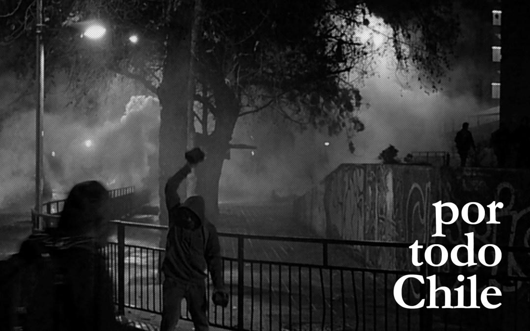 La noche del 4 de agosto del 2011 en Castro, Chiloé (Claudio Vasquez)