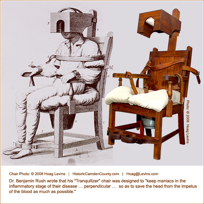 tranquilizer chair used in insane asylums Medical Instruments - medical history form