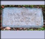 Glenwood Cemetery, Dillion Anderson