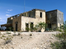 Terlingua -- Howard Perry mansion