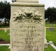 Glendale Cemetery -- Samual Allen