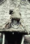 Longhouse gable mask