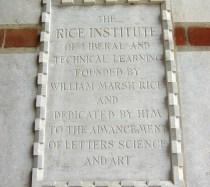 Historic Plaque at Lovett Hall