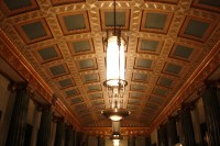 Coffered Ceiling, World War Memorial - Historic ...
