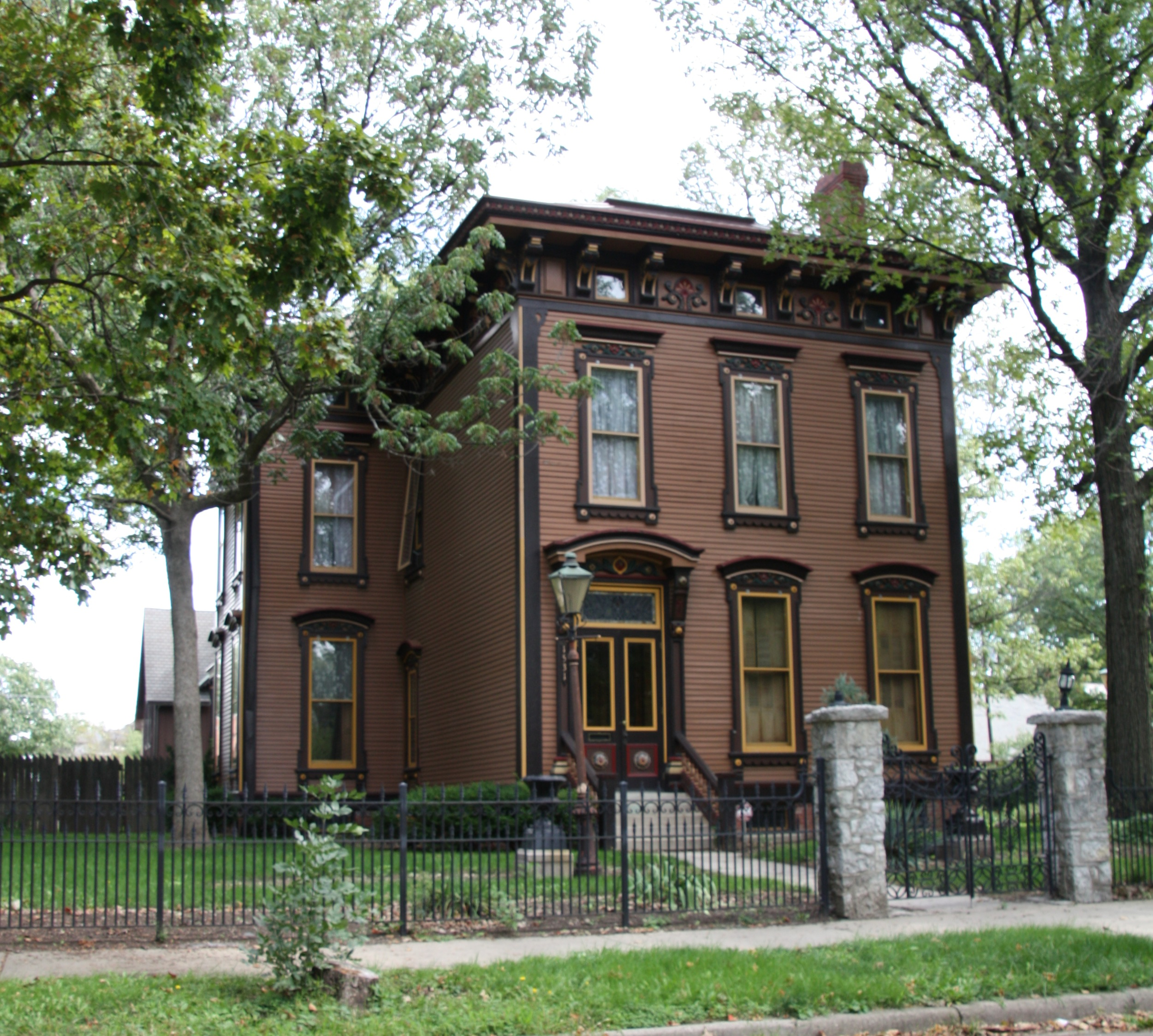 Italianate Style House Interior Building Language Italianate Historic Indianapolis All Things