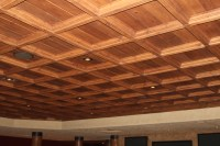 Classic Coffers Suspended Wood Ceiling - Historic Timber ...