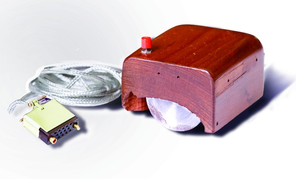 Prototype van Engelbart's computermuis (SRI International - cc)