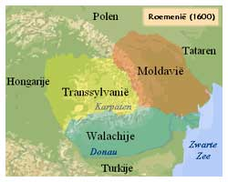 Roemenië in 1600