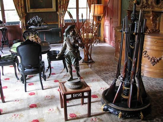 De Stijlkamer in het Aardhuis (foto: Historiek)