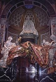 Graftombe van paus Alexander VII