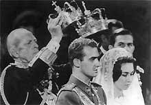 Huwelijk Juan Carlos en Sophia, 1962