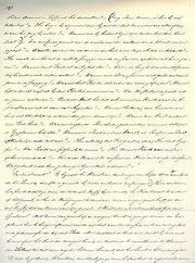 Pagina uit het Max Havelaar-manuscript