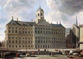 Schilderij van het Paleis op de Dam – ca. 1670, Gerrit Adriaensz. Berckheyde