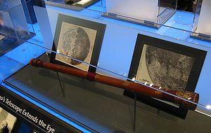 Replica van de telescoop van Galilei