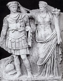 Agrippina en Nero