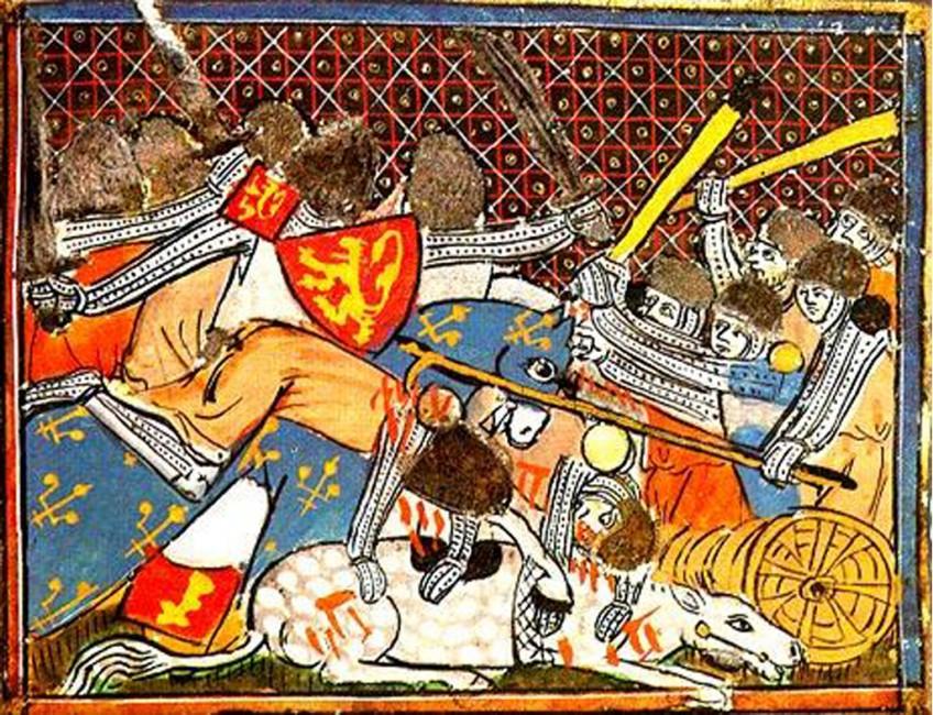 De Guldensporenslag - De strijd om Vlaanderen (1302)