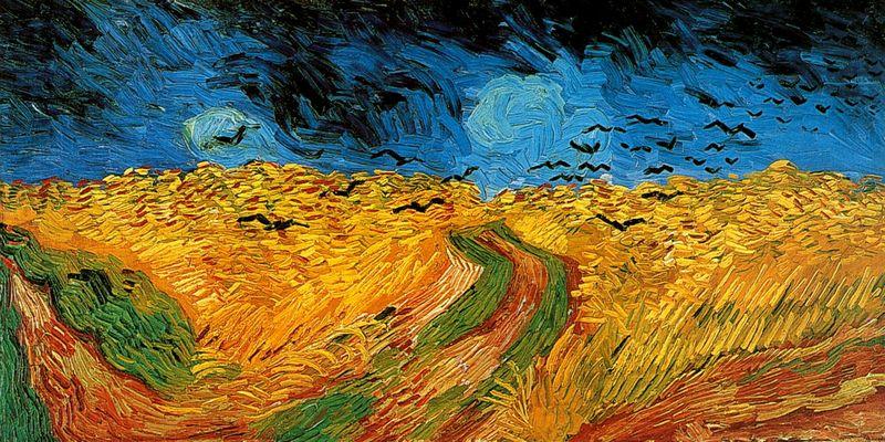 Korenveld met kraaien – Vincent van Gogh, 1890 – Van Gogh Museum