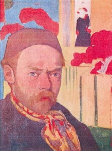 Ook van dit schilderij (van Meyer de Haan) zijn sporen gevonden tijdens het asonderzoek