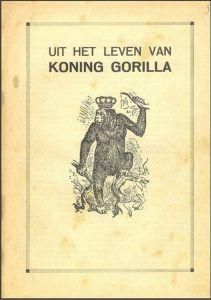 Omslag van 'Uit het leven van koning Gorilla' op de website van ProRepublica
