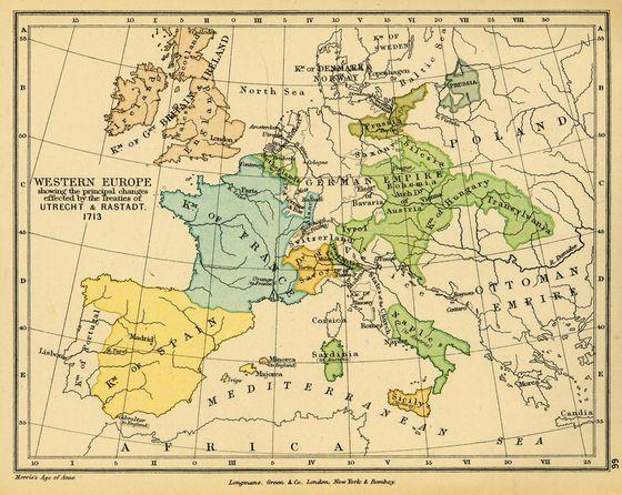 De kaart van europa werd ingrijpend gewijzigd zo gingen de zuidelijke