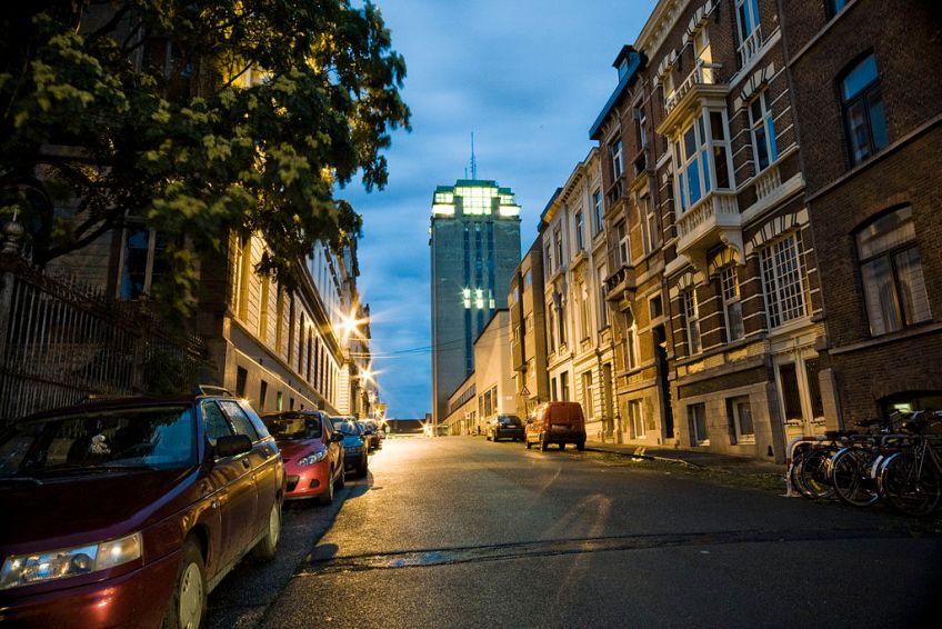Boekentoren in Gent - cc