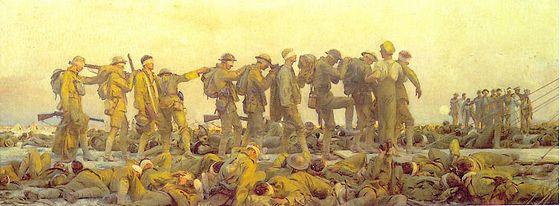 Gassed - John Singer Sargent, 1918
