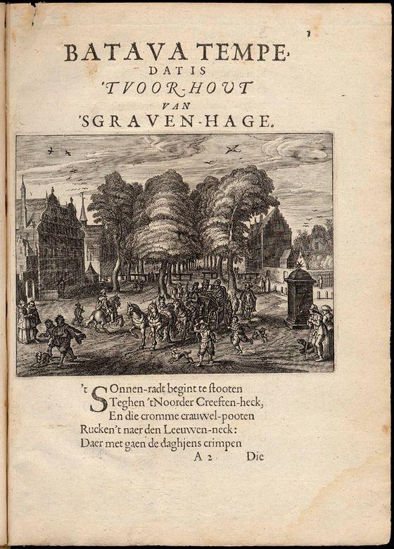 Constantijn Huygens en Den Haag