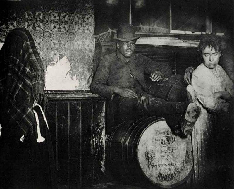 New York, ca. 1888 - Foto: Jacob Riis