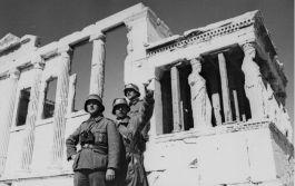 Duitse soldaten in Athene tijdens de Tweede Wereldoorlog - Foto: CC / Bundesarchiv