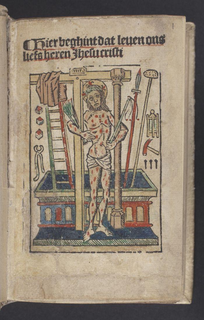 Hier beghint dat leuen ons liefs heren Ihesu cristi 1502-1503, Koninklijke Bibliotheek