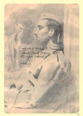 Een van de tekeningen in het boek (Ferruccio Francesco Frisone)