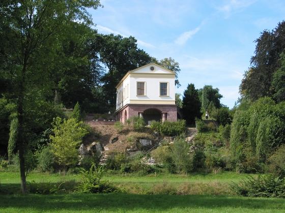 Romeinse huis in Park an der Ilm. Bron: cc/© R.Möhler