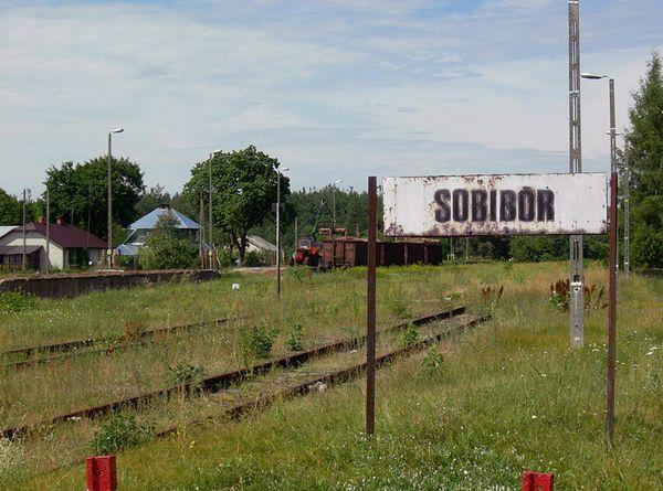 Het station van Sobibór in 2007 - Foto: CC