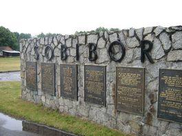 Monument in Sobibor