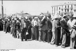 Registratie van de Joden van Thessaloniki, 1942 - Bundesarchiv