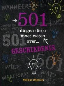 501 dingen die u moet weten over geschiedenis