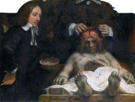 De anatomische les van Dr. Deijman - Rembrandt van Rijn, 1656